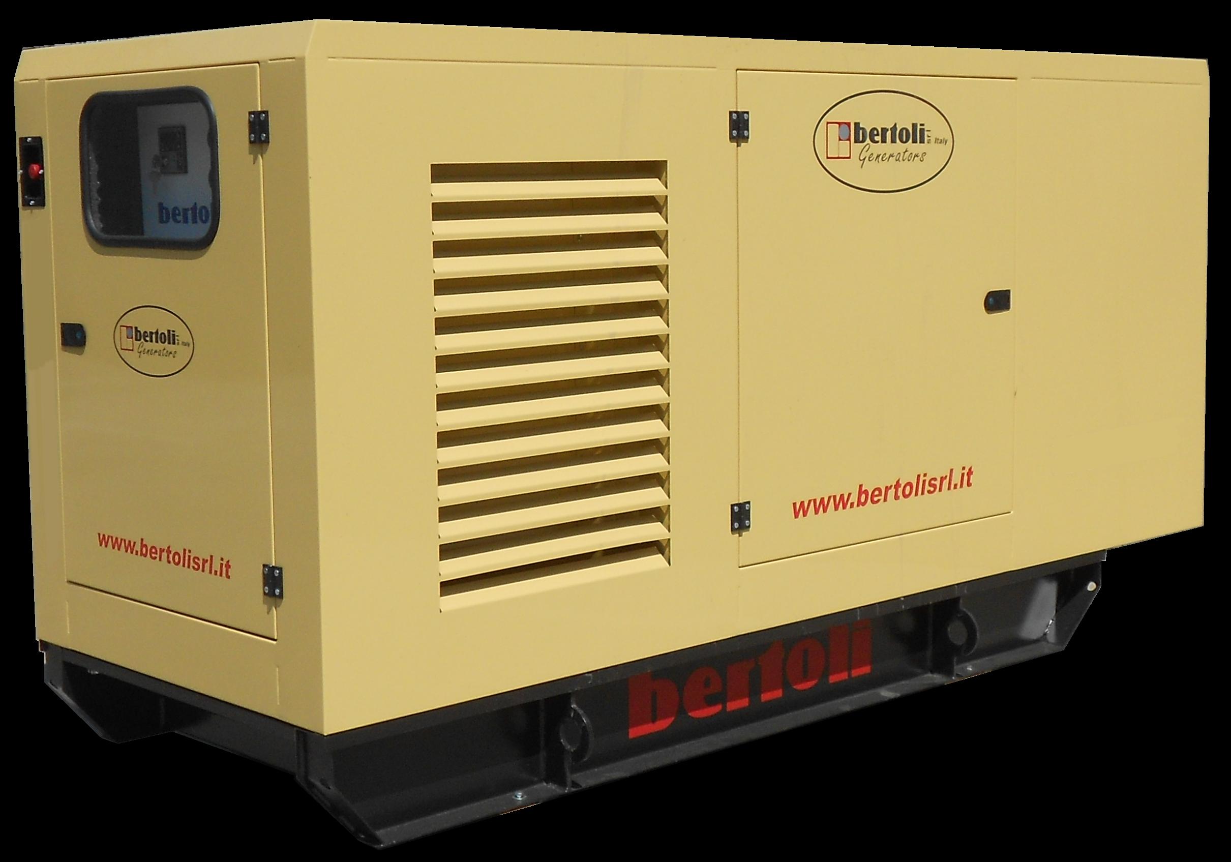 Generatore bertoli 100 kva