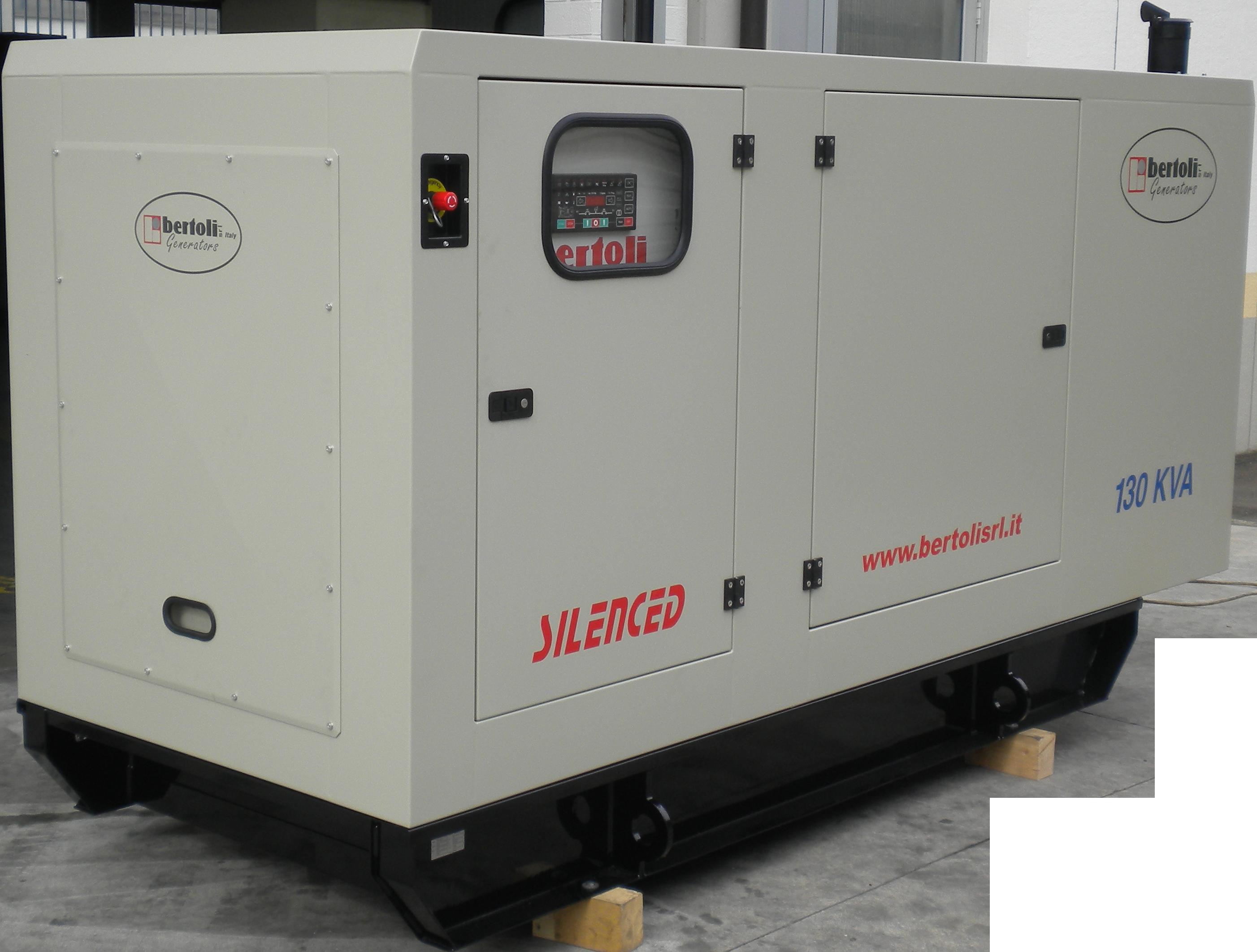 generator 130 kva