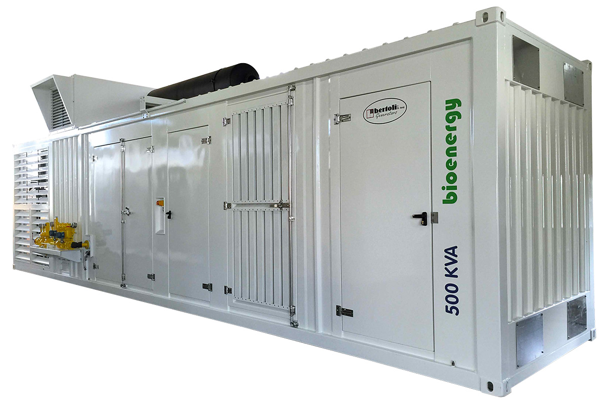 Generatori Metano 550 kva