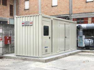 Cogen bertoli 350 kW