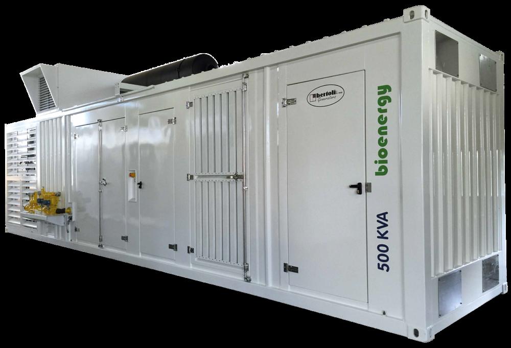 Cogen bertoli 500 kVa