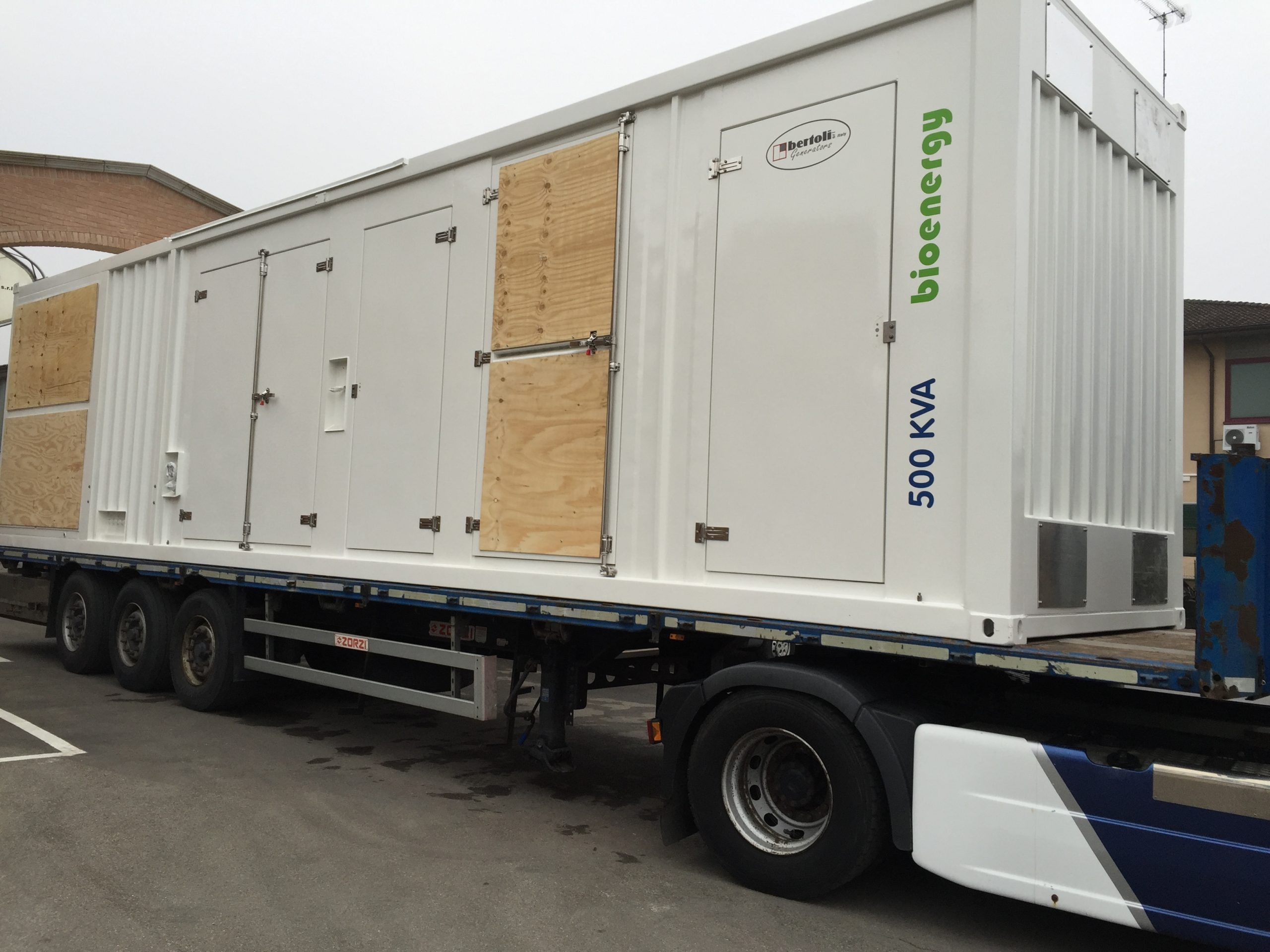 bio-energy generato transportation
