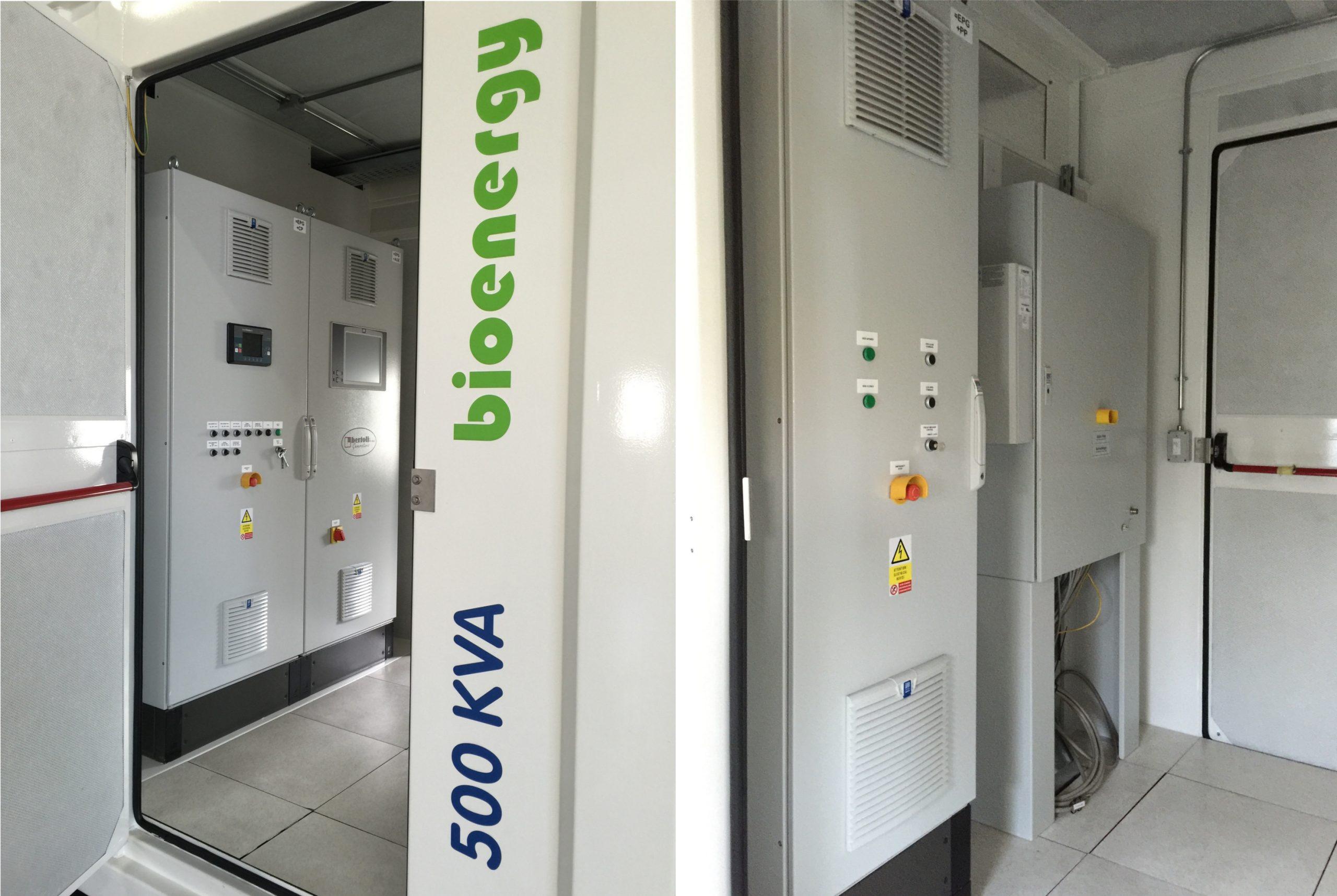 bio-energy generator control panel