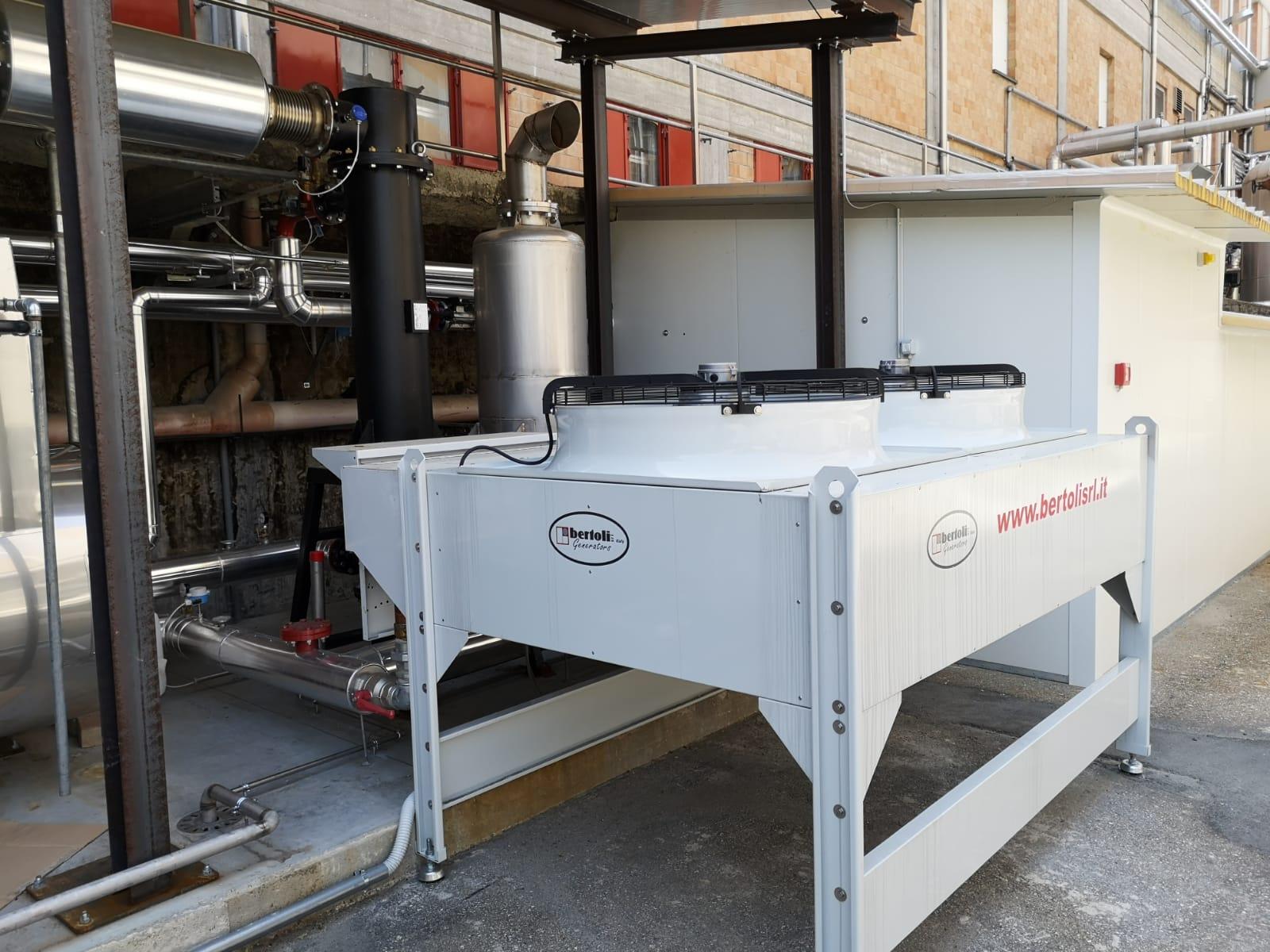 co-generator installation