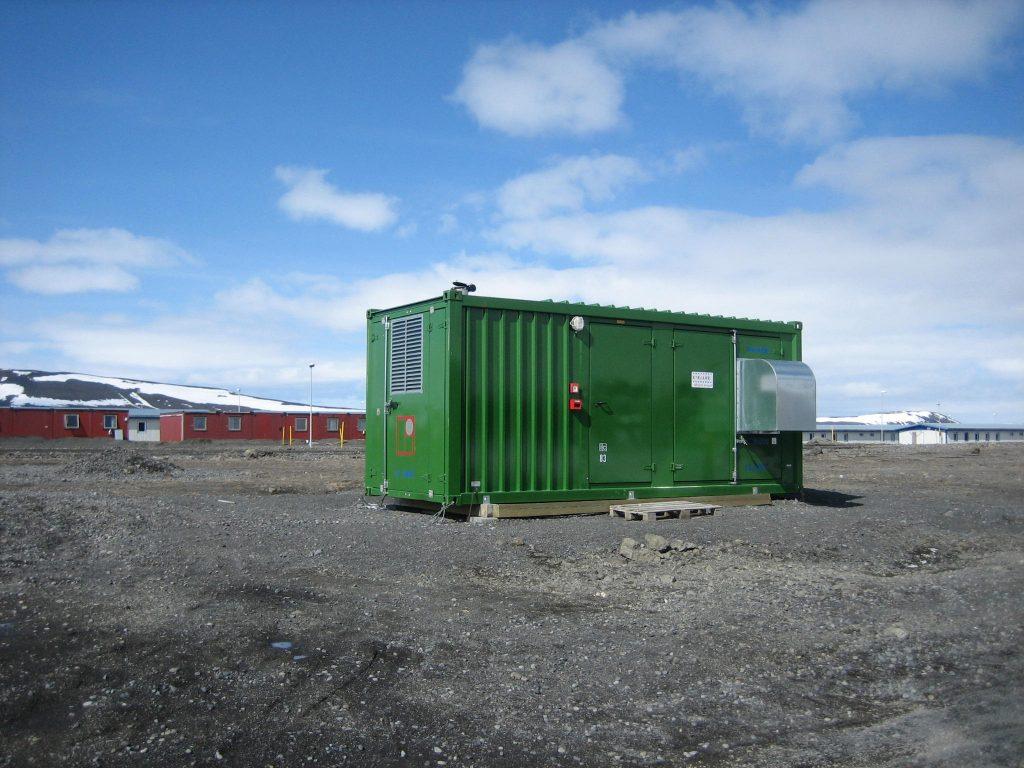 ground power unit installation